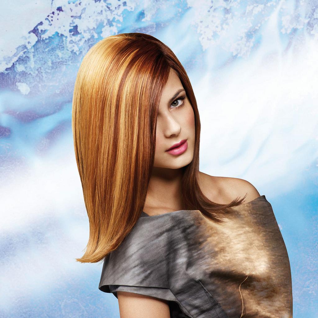 Стрижка шапка для длинных волос